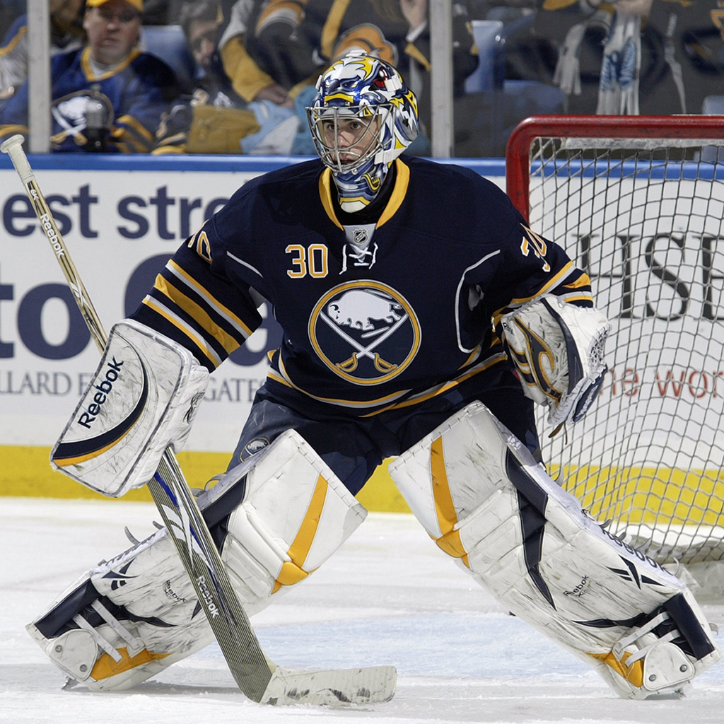 Ryan who? Photo from sabres.com