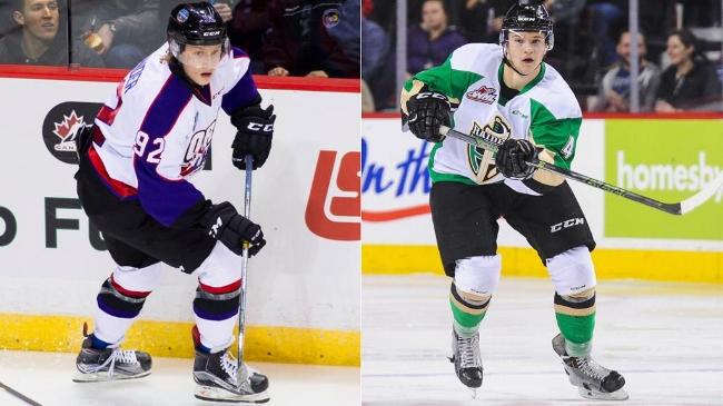 Nylander(left), Guhle(right) - photo from NHL.com