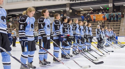 The fast paced Beauts play wide open, gritty hockey and have a total of 6 Olympians (current and former) on their squad.