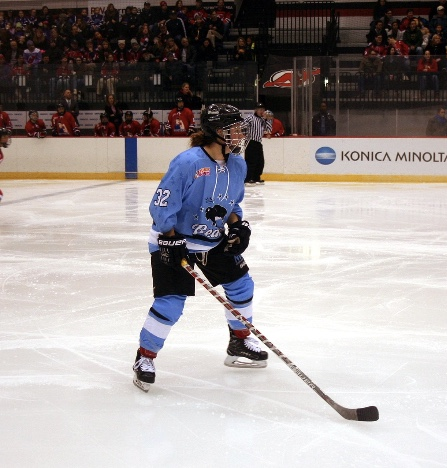 Jess Jones versus Metropolitan Riveters. Photo courtesy of Mike Murphy.