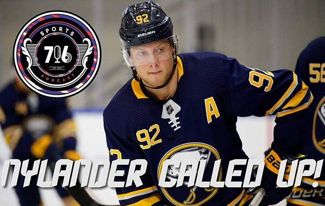 Alex Nylander gets the call! Who do you want to see him play with? What do you need to see? #sabres #buffalosabres 📸 courtesy: Buffalo News