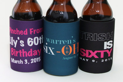 There top stubby holder designs for your 60th birthday
