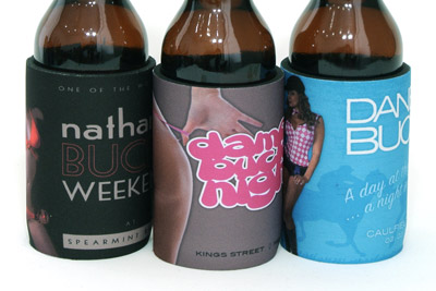 Three of our top sexy Bucks stubby holder designs