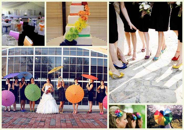 A theme for a few years now and still going strong - rainbow colours make for an exciting and colourful day for everyone