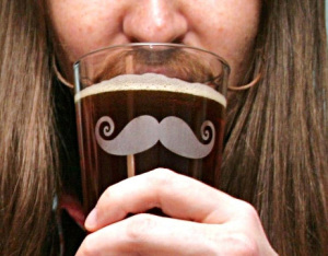Beer. Moustaches. Men's Health = Movember