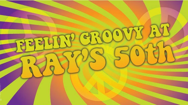 Yeah Baby! Rave on Austin Powers style with this groovy birthday stubby holder design
