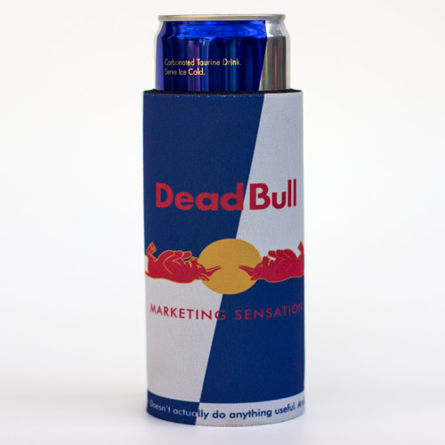 Dead Bull energy drink stubby holder