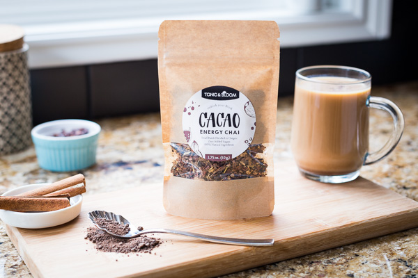 Cacao chai by Tonic and Bloom