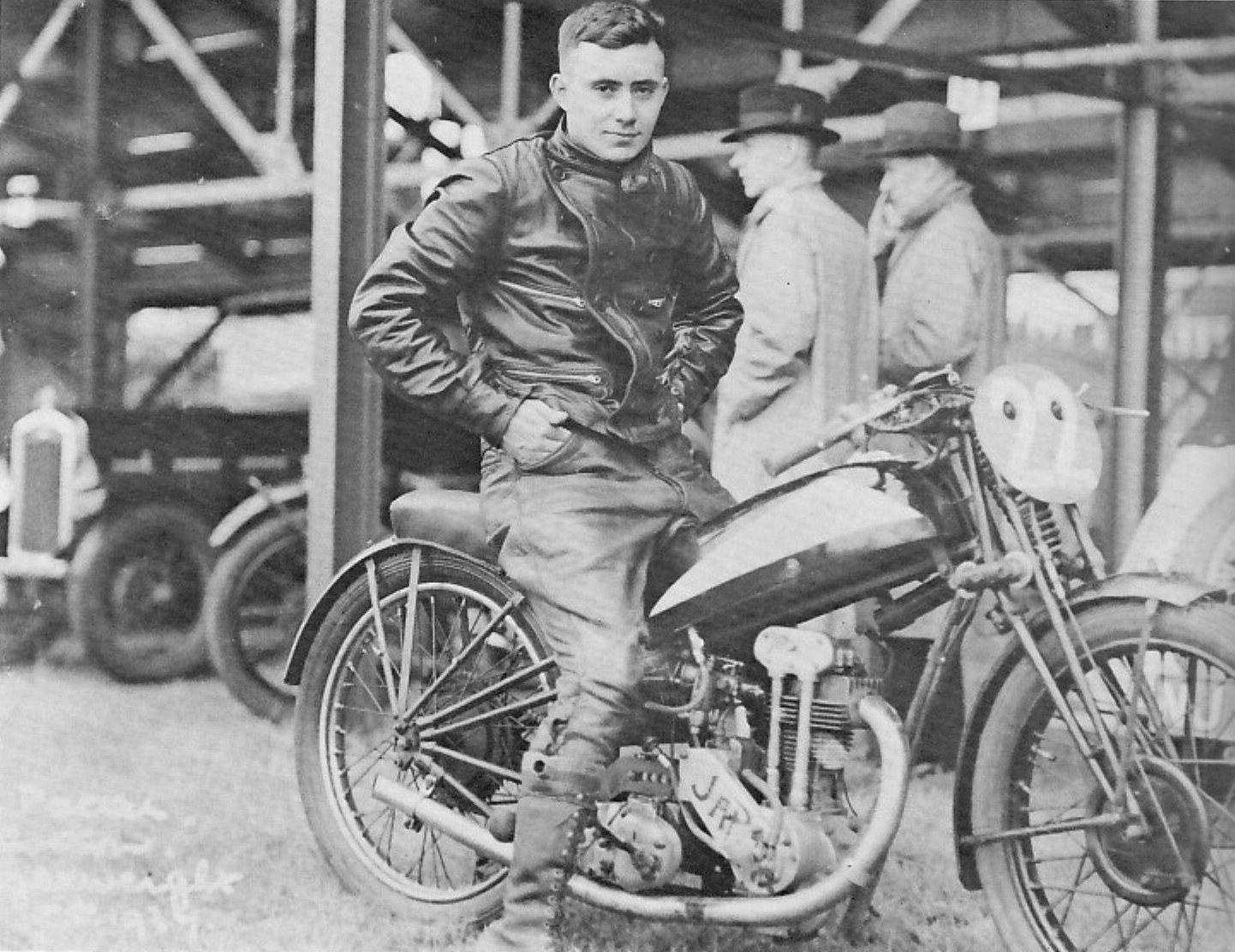 George Pepper's big international break came in 1937 when he participated in the Isle of Man Tourist Trophy races. Although he failed to finish any of his races, he found steady work riding Speedway in England soon after.