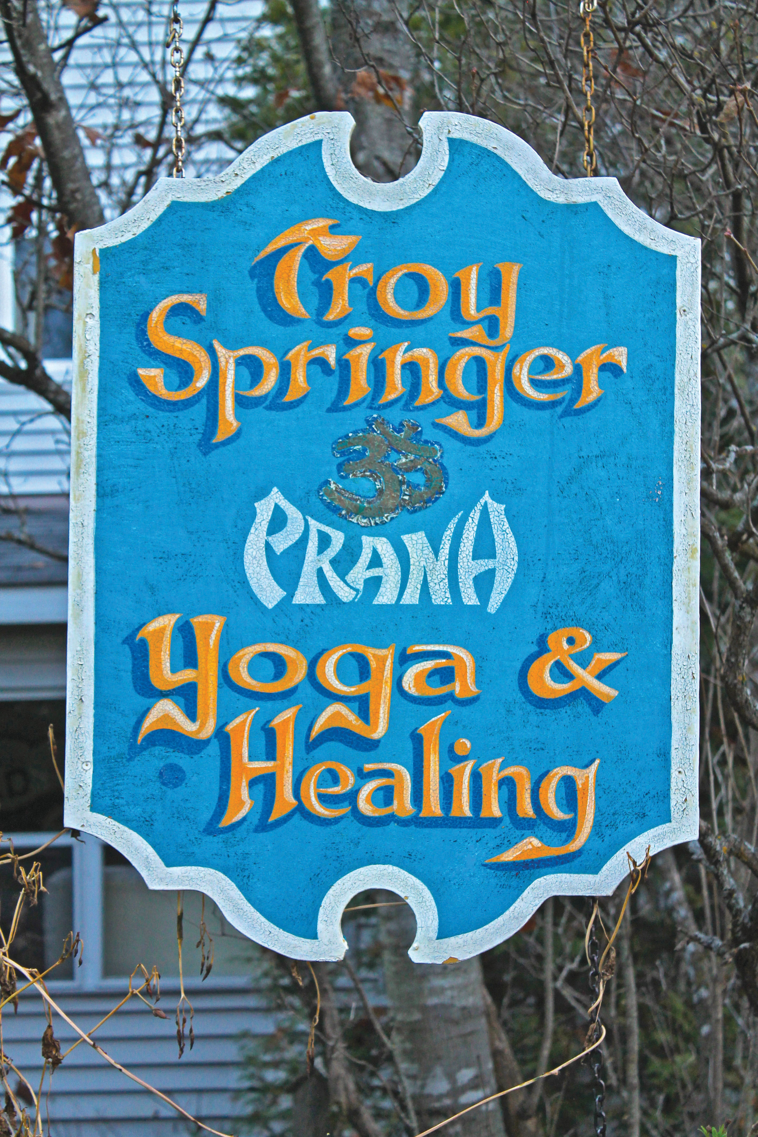 Springer has a flourishing yoga and healing practice in Bancroft. Despite not doing any marketing, her classes are always full. Photo by Michelle Annette Tremblay