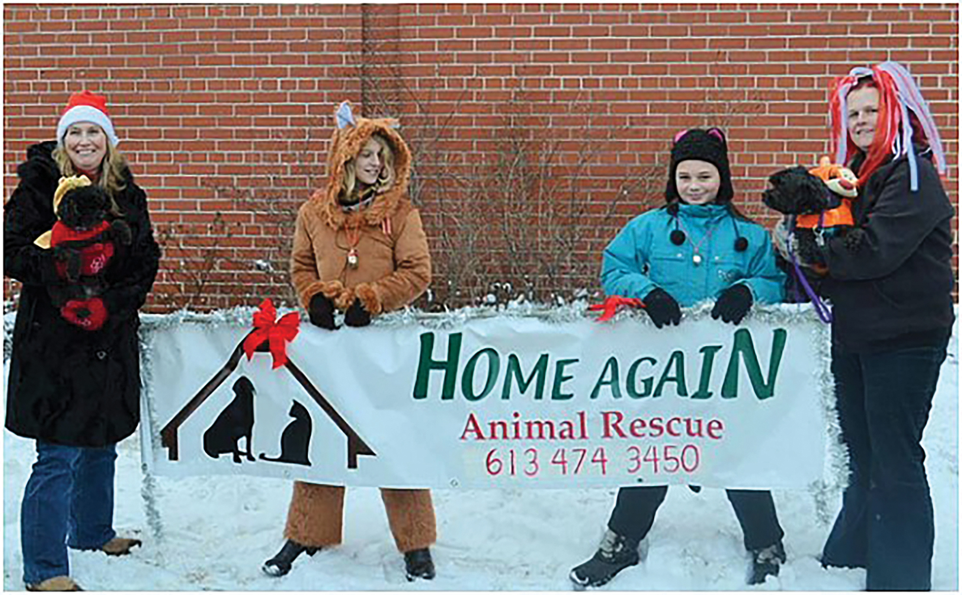 Founded in 2009, Home Again considers the internet essential to its services. Its website is linked to Petfinder and its Facebook page includes almost 1,500 members.Photo courtesy Home Again