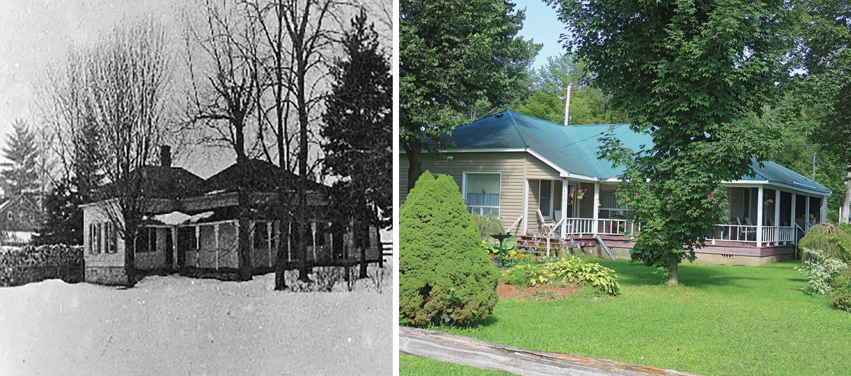 Dr. T.E. Pomeroy Residence (c.1855) – Tweed. Historic photo courtesy Tweed & District Heritage Centre. (Photos Dr. Pomeroy House (1) & (2))
