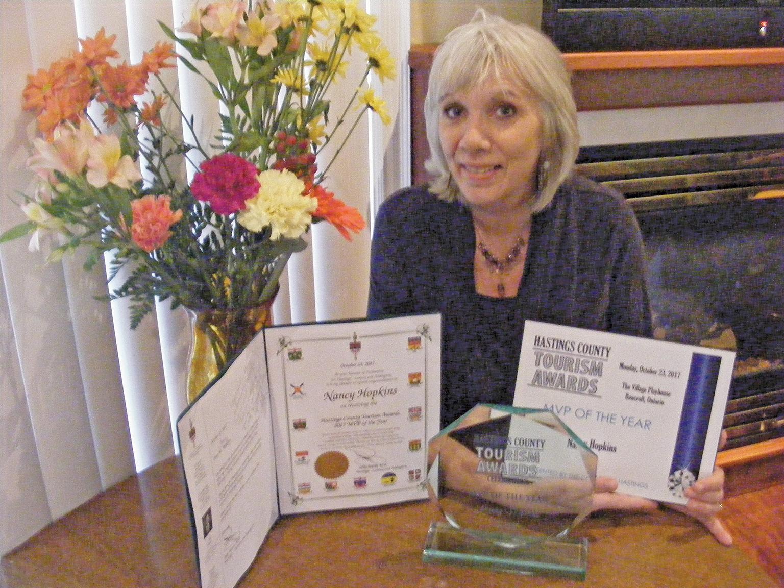 Country Roads Publisher, Nancy Hopkins