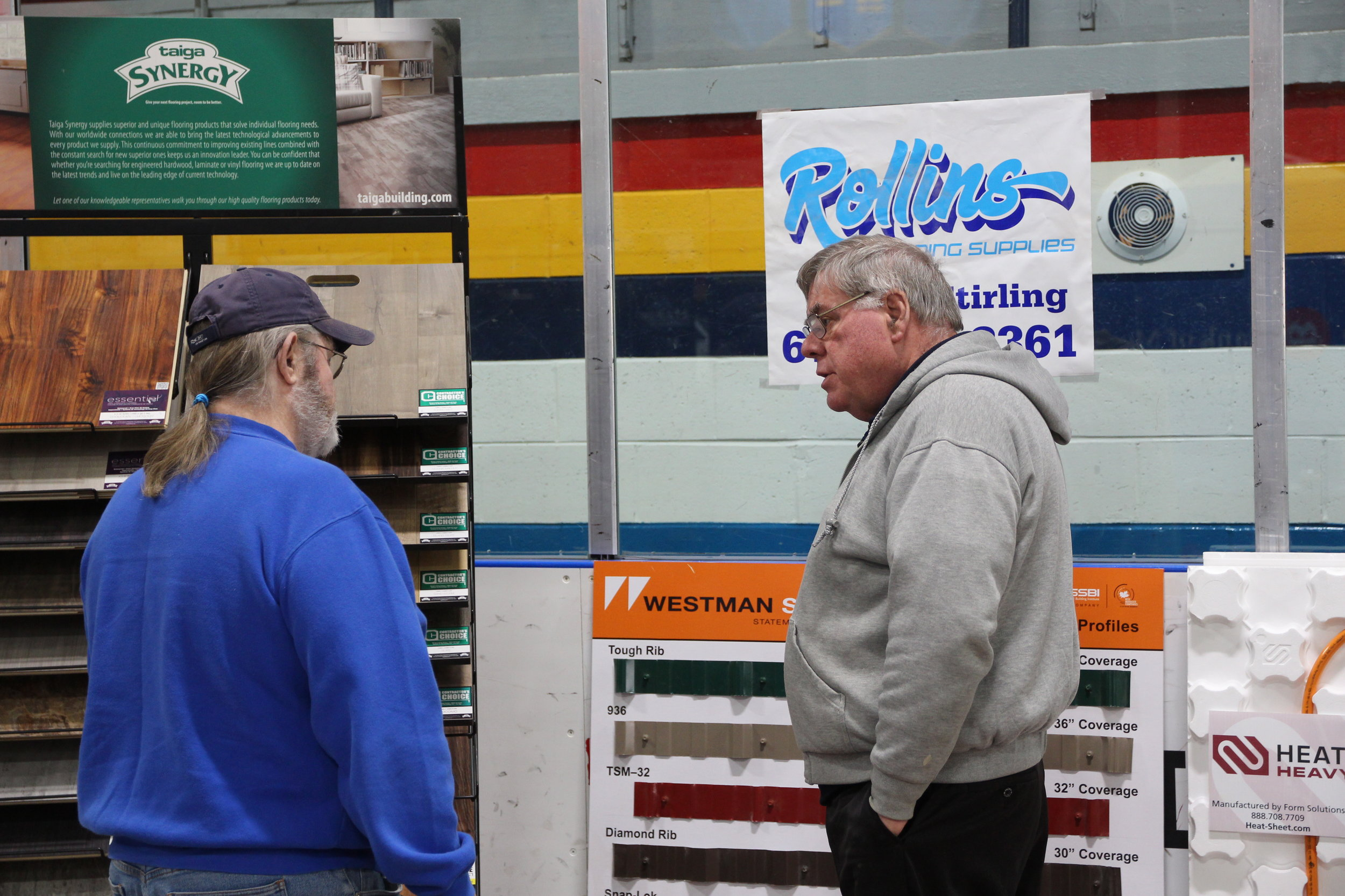 Home hardware and building supply companies such as Rollins Building Supplies (Rona) will be on hand to answer your questions.