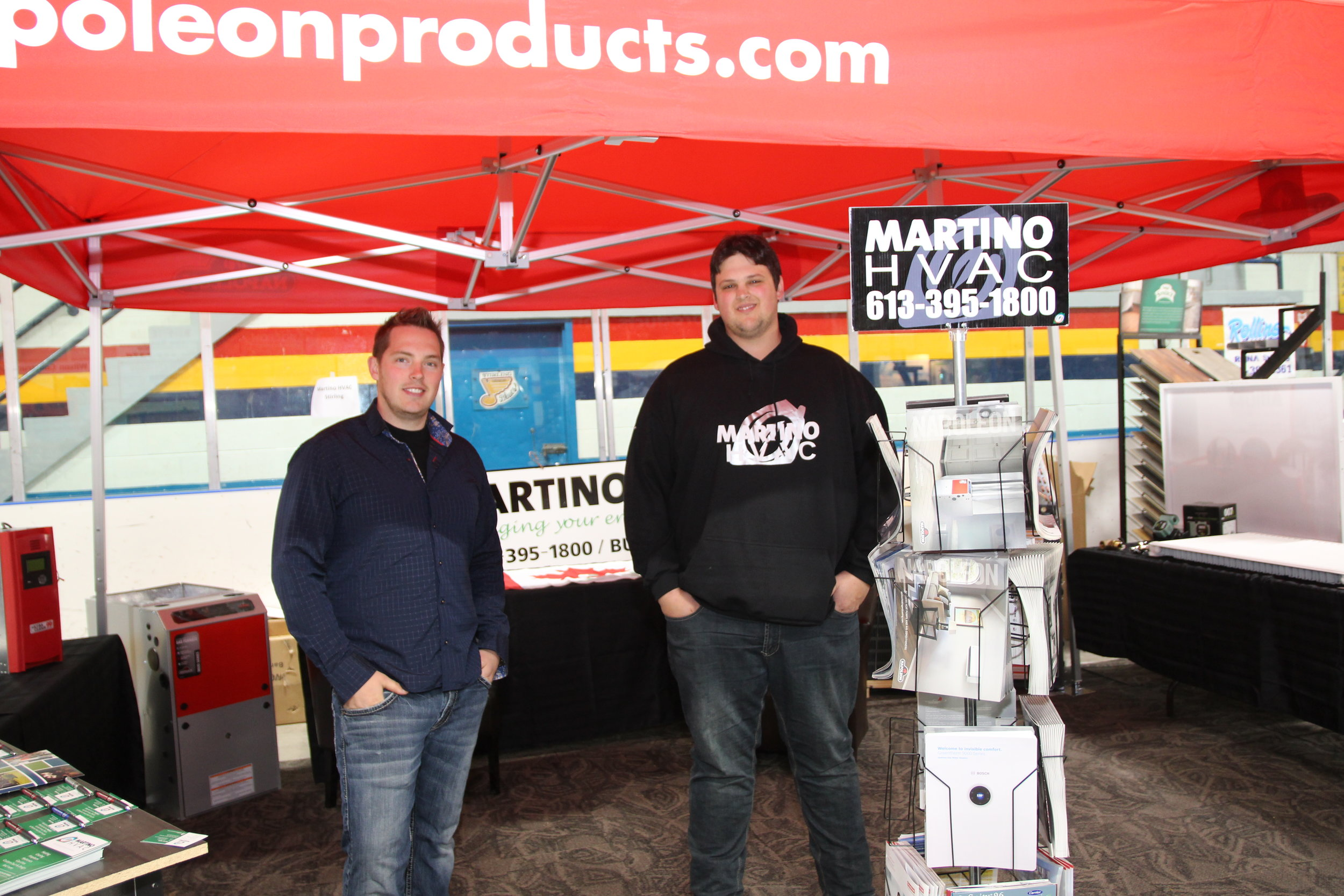 Martin and Don from Martino hvac ltd will also be in attendance at the 4th annual stirling-rawDon home and lifestyle expo!