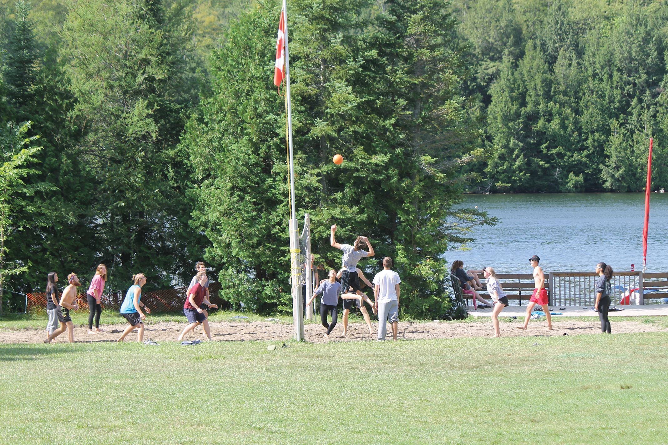 Summer camp isn't just for kids. Working as a camp counsellor is an excellent way for young people to build leadership and teamwork skills. Being a camp counsellor looks excellent on university applications. Photo Courtesy of Camp Can Aqua.