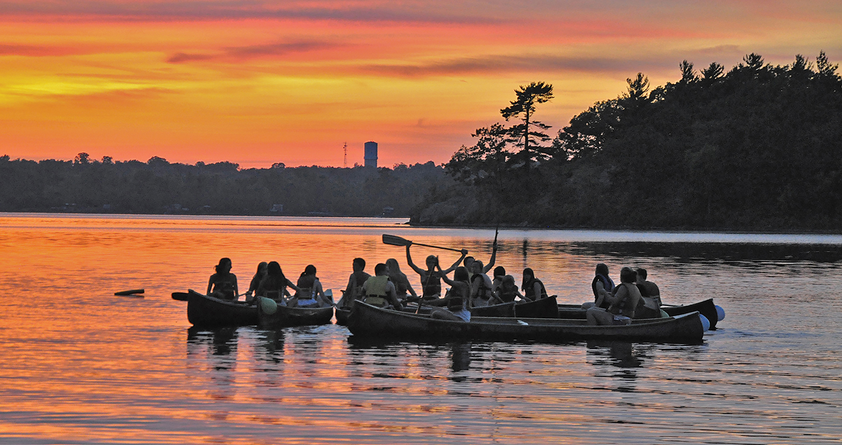 Campers come from all over the world for the chance to experience the uniquely Canadian tradition of summer camp. Photo Courtesy of Camp Quin-Mo-Lac.