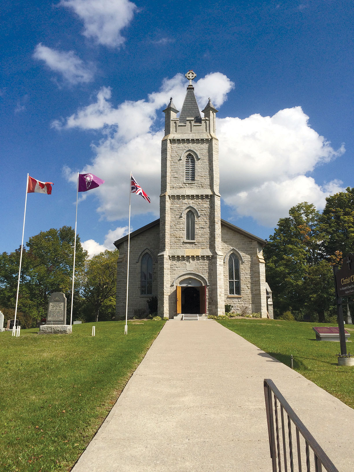 The cemetery attached to the Christ Church Royal Chapel located in nearby Tyendinaga Mohawk Territory is the final resting place of legendary Dr. Oronhyatekha, the first known Aboriginal Oxford scholar and one of Canada's first Indigenous M.D.s. Photo courtesy Bev Hill LaRue, MBQ Communications, Tyendinaga Mohawk Territory.