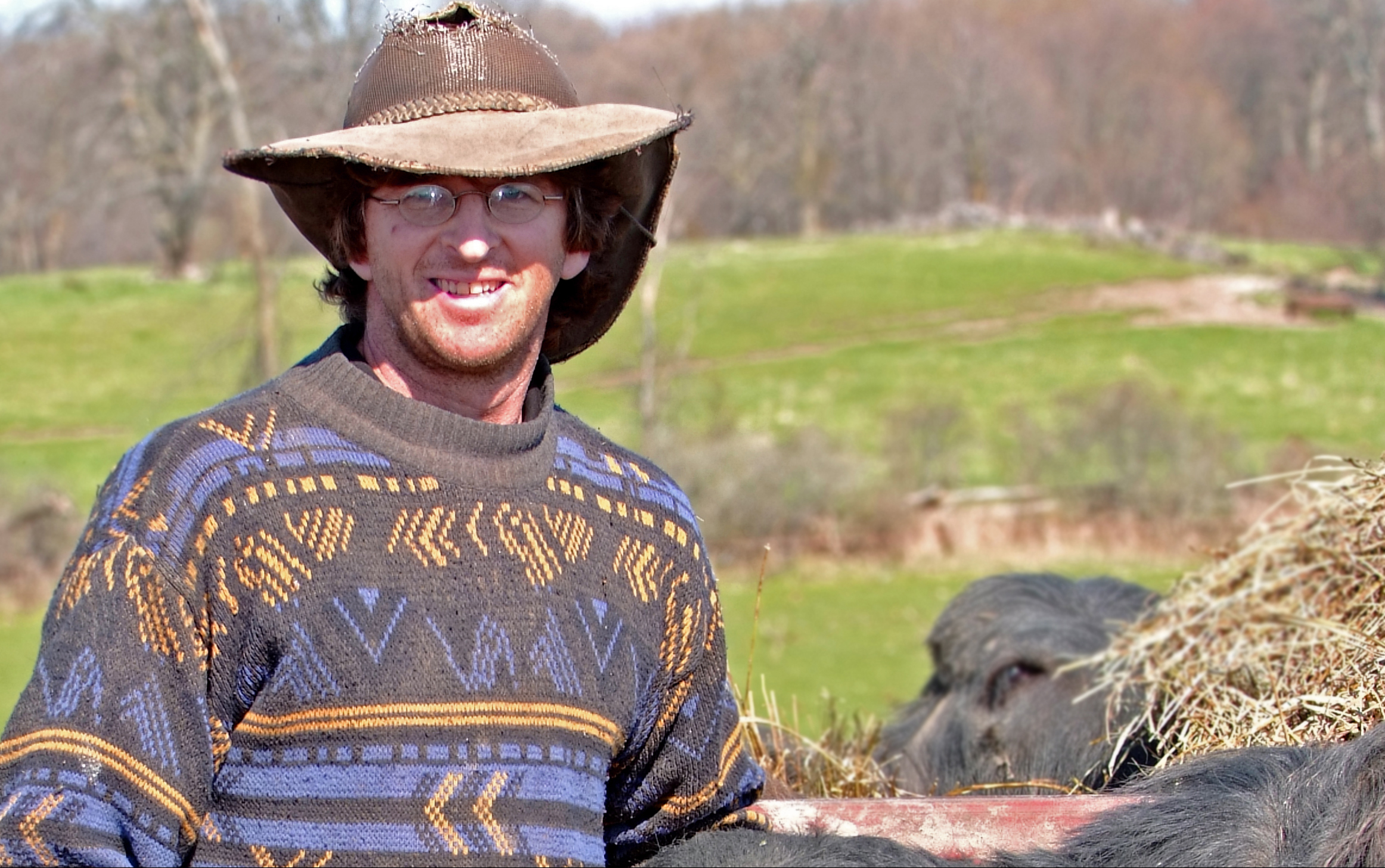 Stirling area farmer Martin Littkemann purchased his first herd of water buffalo in April 2008.