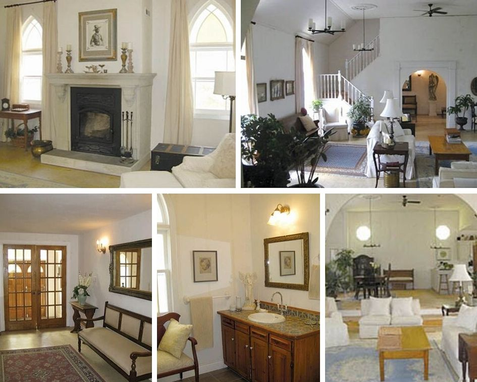 A complete transformation from a house of congregational worship, taken down to rough walls and ripped up floor boards, and re-invented to become a calm, spacious and inviting home. Photos courtesy Jennifer Reid.