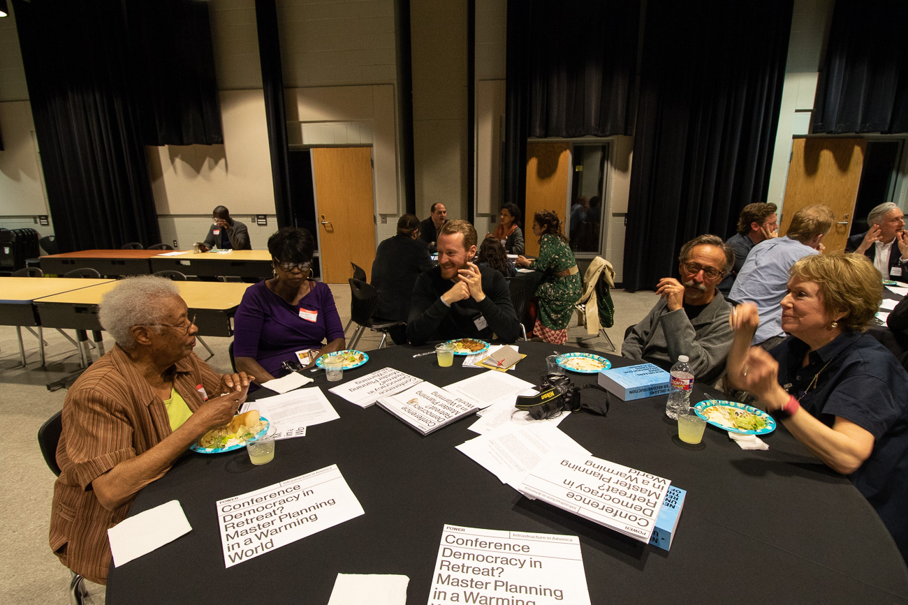 Democracy in Retreat__Table of Pontchartrain Park reps with conference organizers and presenters__March 2019.jpg