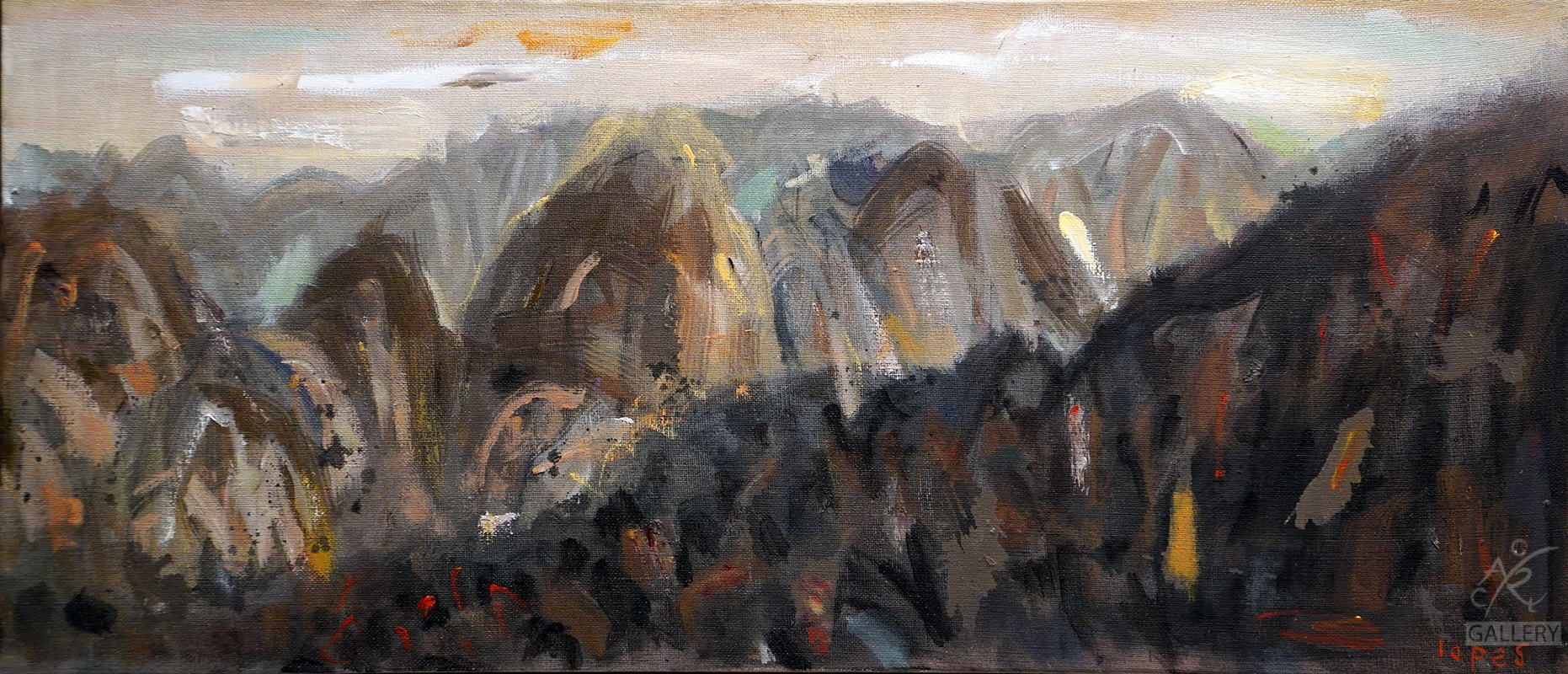 Huangshan, Mountain Top Study II