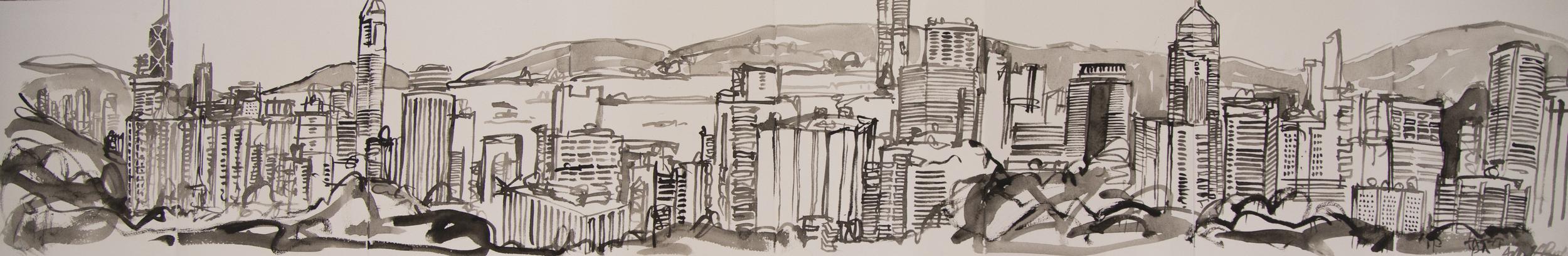 Panorama sketchbook #3