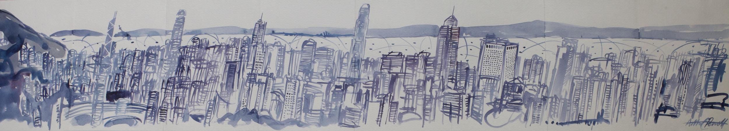Panorama sketchbook #8