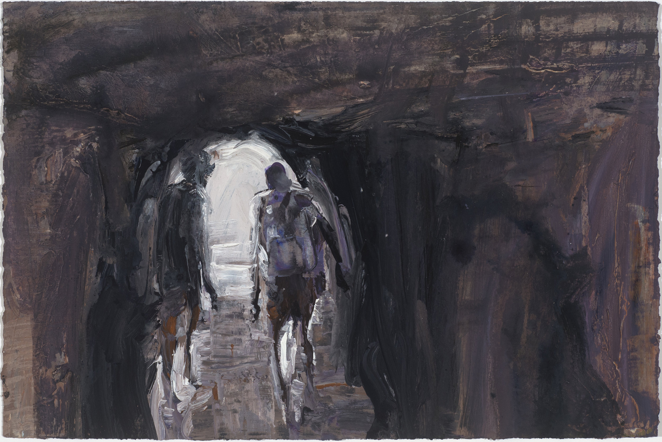 Cave study (Towards light) 10/16