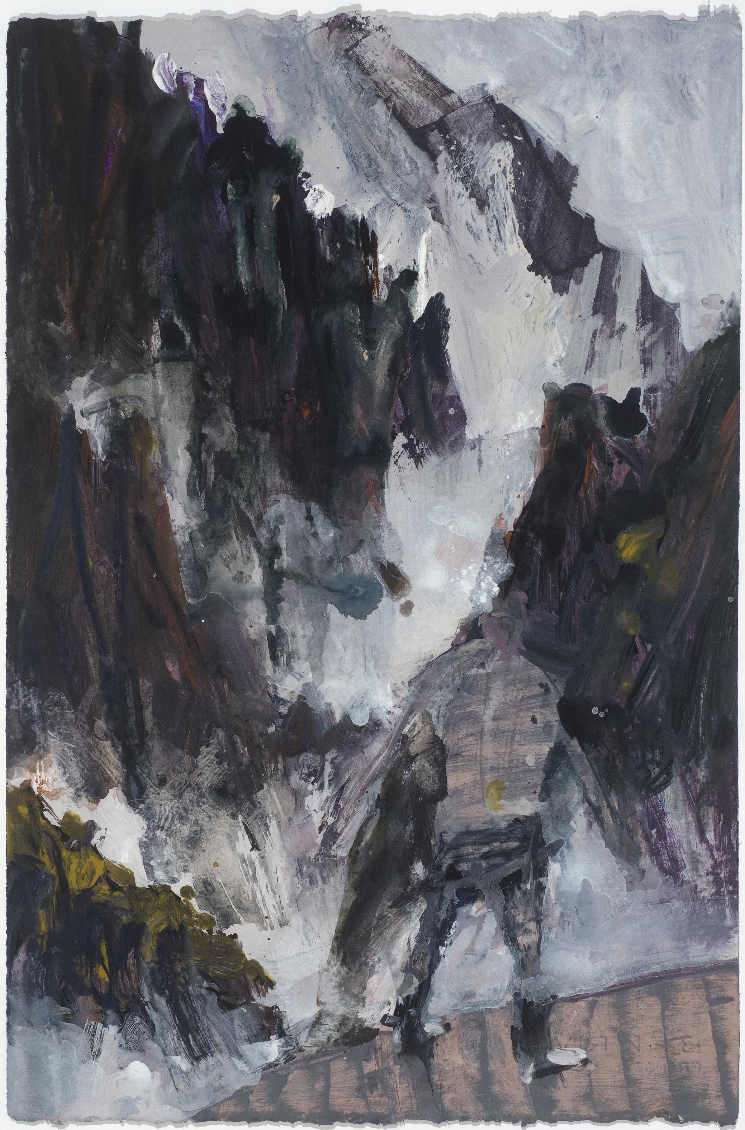 Misty mountain study 10/16