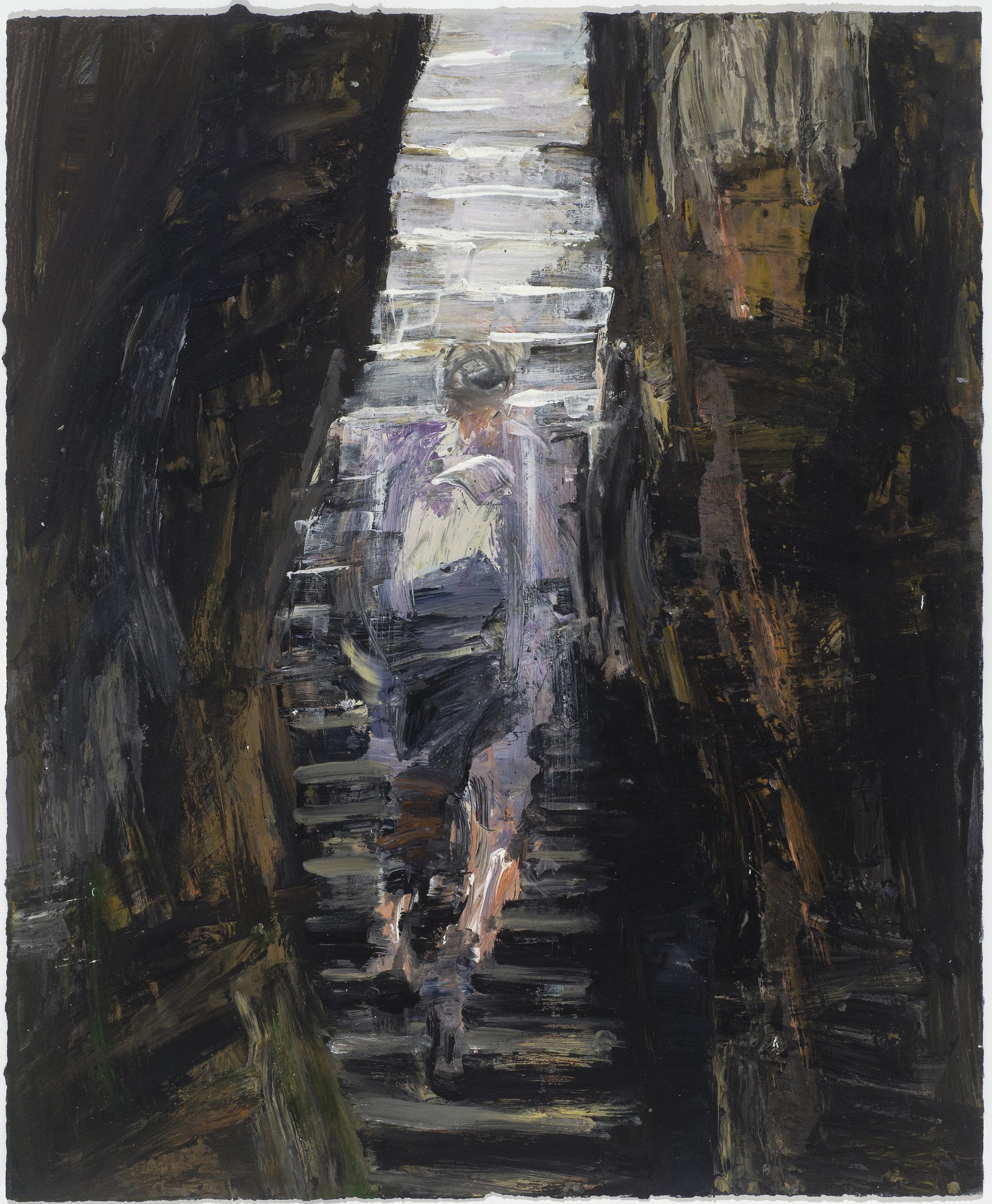 Climbing (internal) stairs