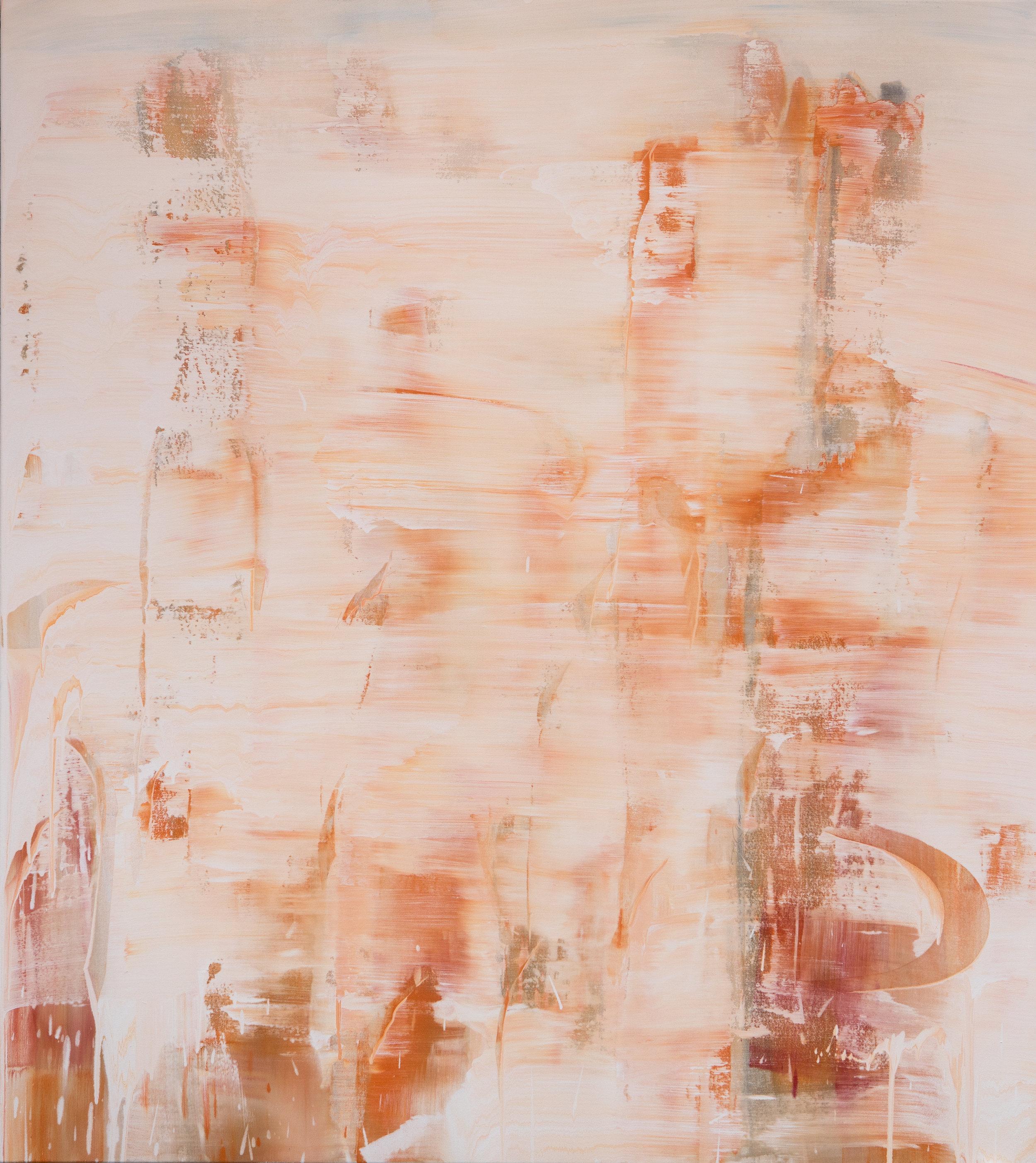 Veiled Landscape-Zahnjiajie 1, 2018, acrylic pigment on canvas, 189 x 169 cm.jpg
