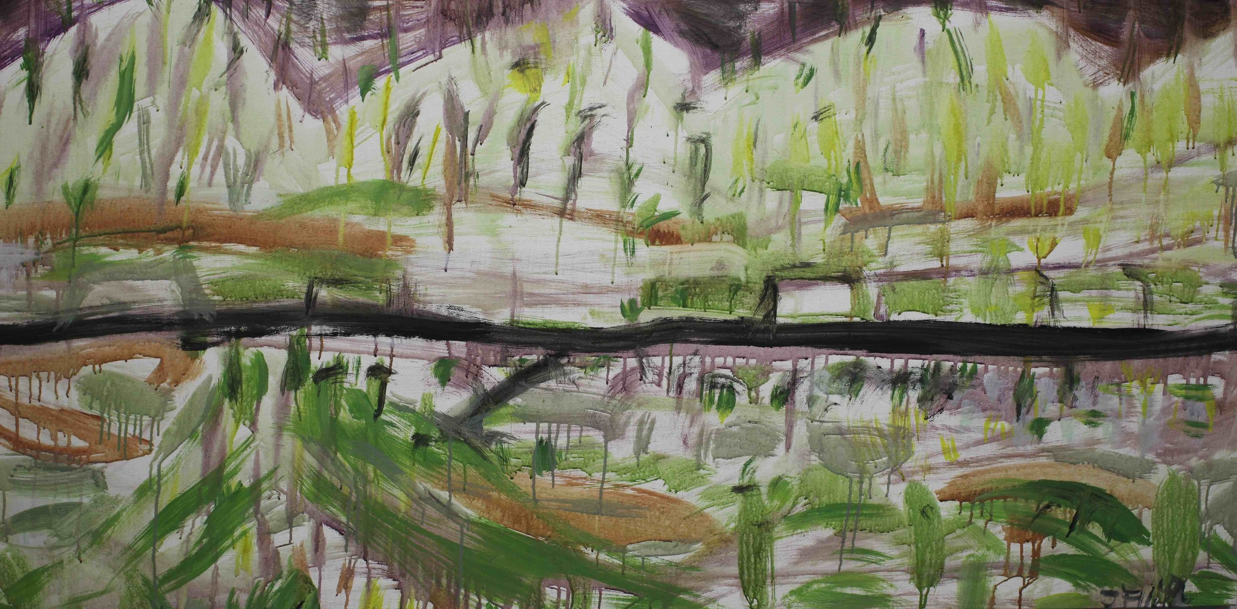 Joe Furlonger_The new Aspalt Road_2018_Acrylic on canvas_78x155.5cm_18,000AUD copy.jpg