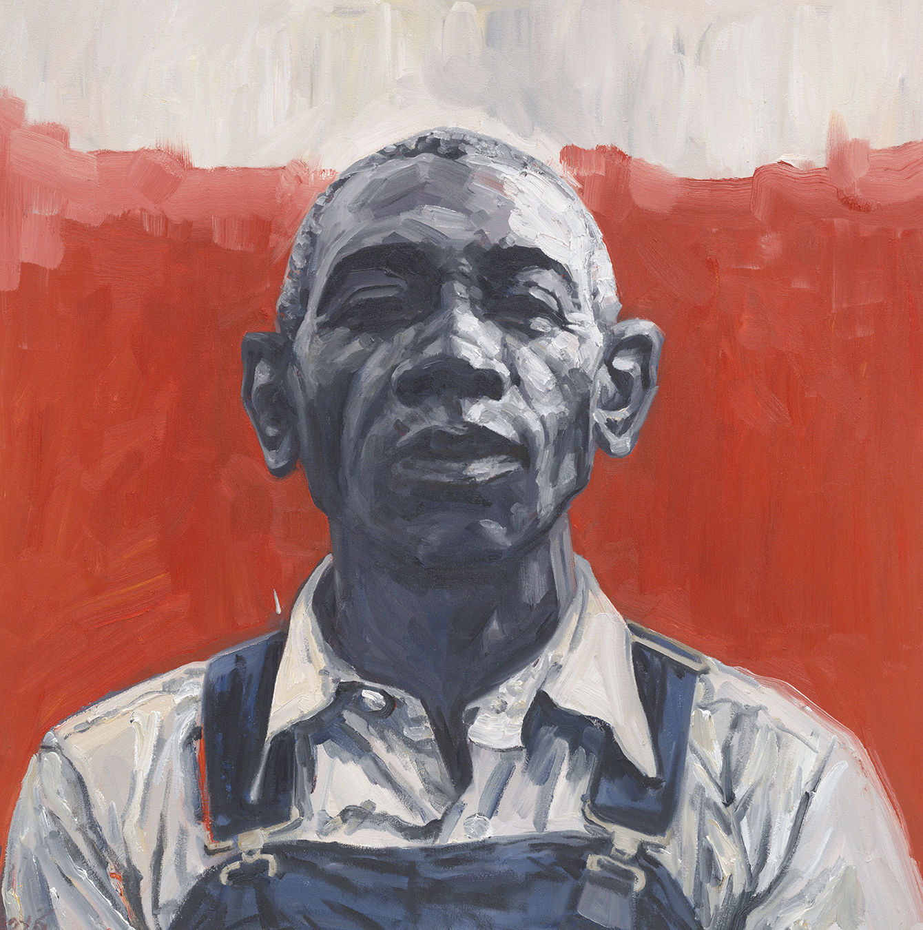 Old Black Joe, 2016, Oil on canvas  36 x 36 inches