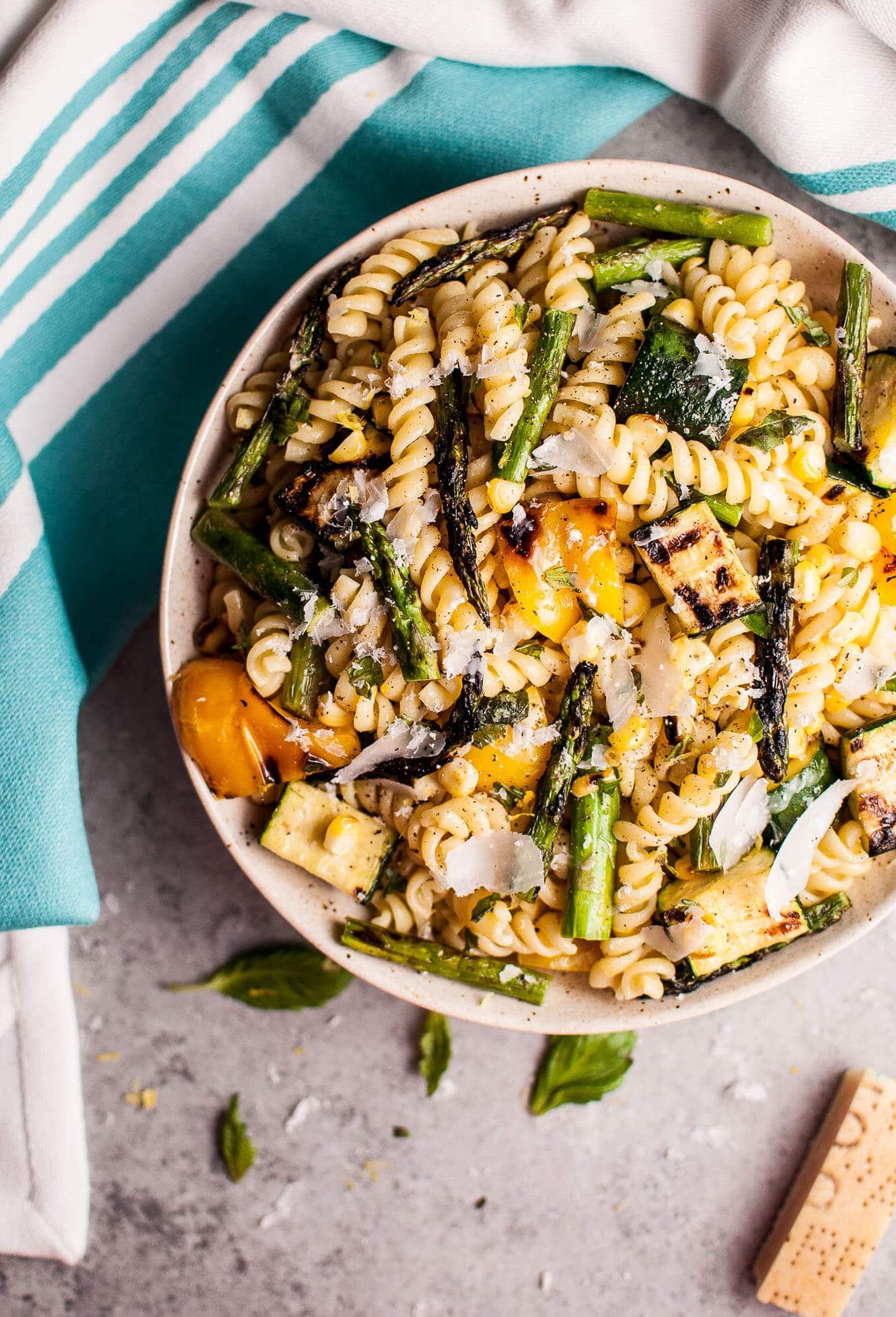 http://www.saltandlavender.com/grilled-summer-vegetable-pasta-salad/