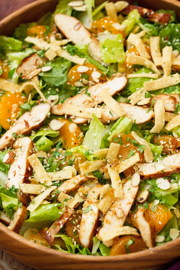 http://littlespicejar.com/asian-sesame-chicken-salad/