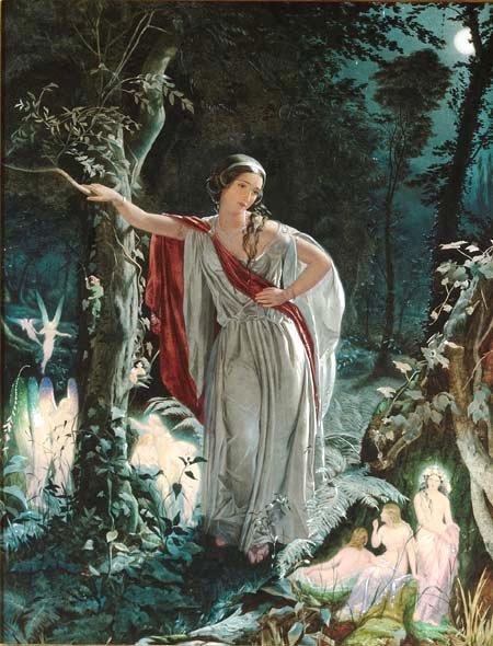 Hermia and the fairies.