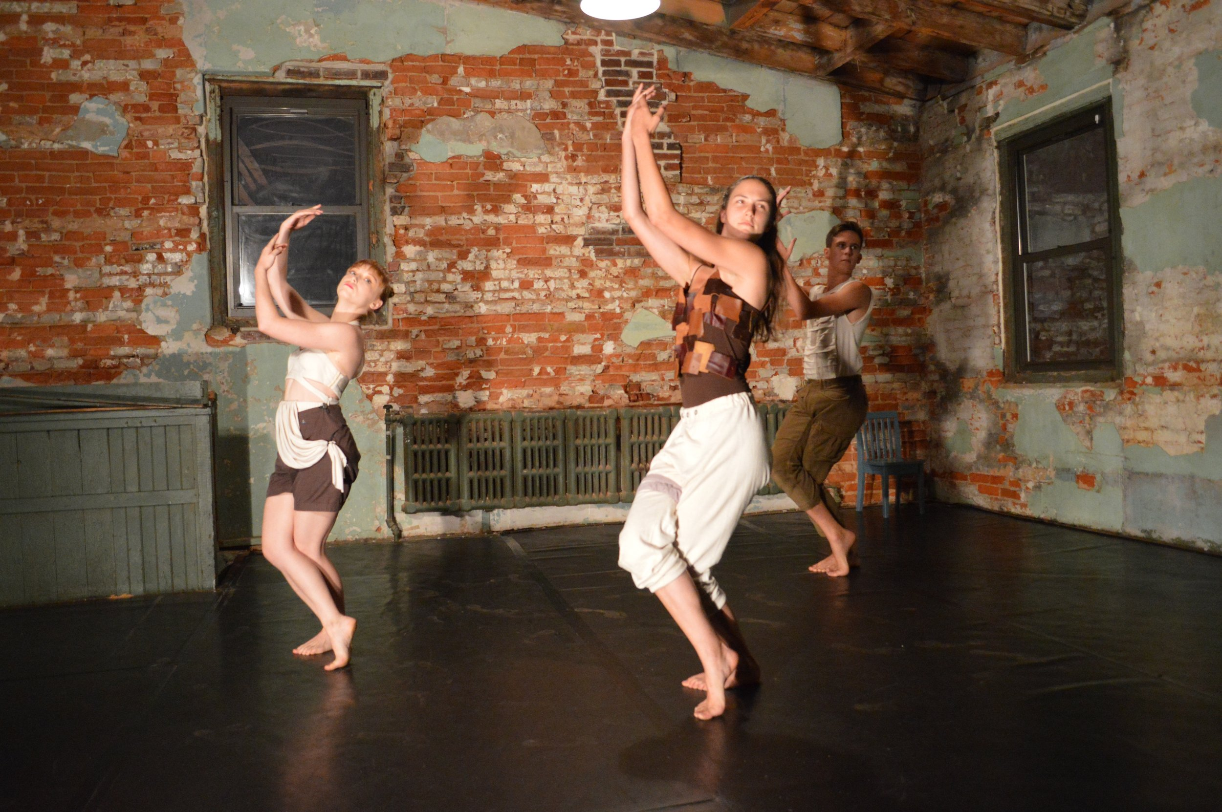 Bacchic  performance at The Iron Factory in Philadelphia.  Photo by Annabelle Cousins