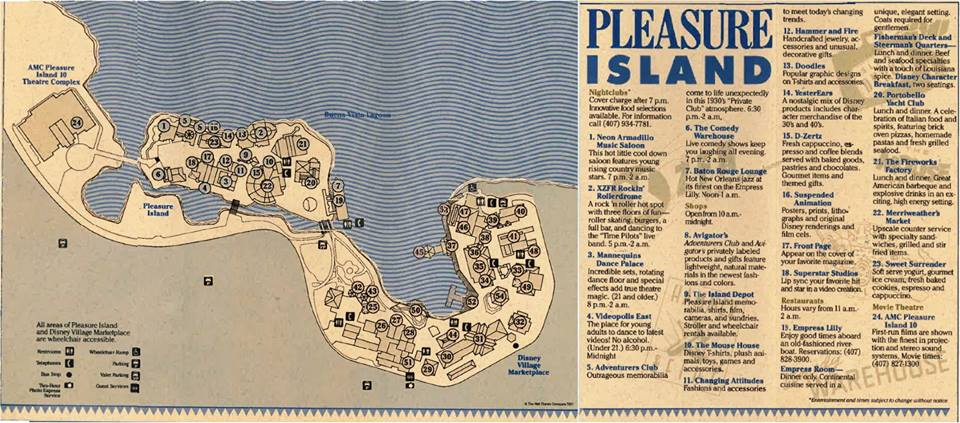 Map courtesy of  Save Pleasure Island