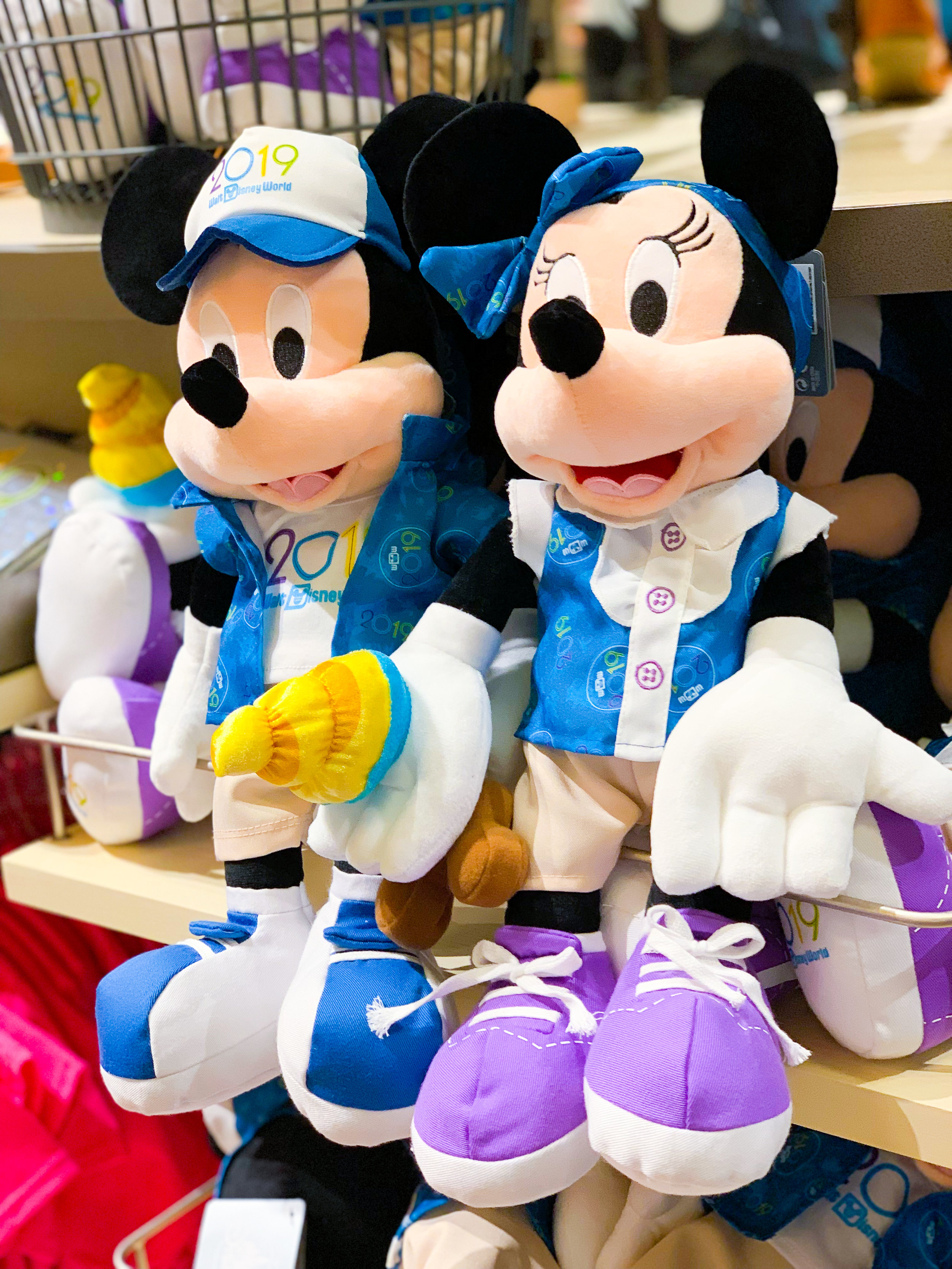 This Minnie and Mickey 2019 plush is just too cute for words!