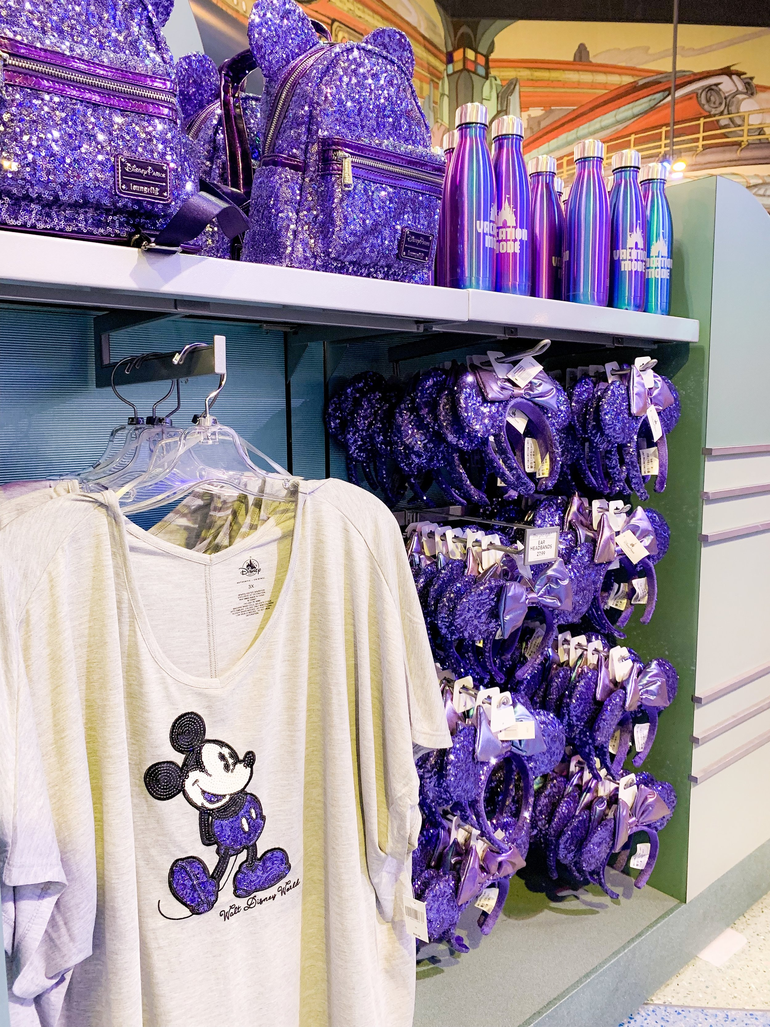 All of the Purple Merch  From Minnie Ears to Loungefly Bags, this collection is perfect for any lover of purple!