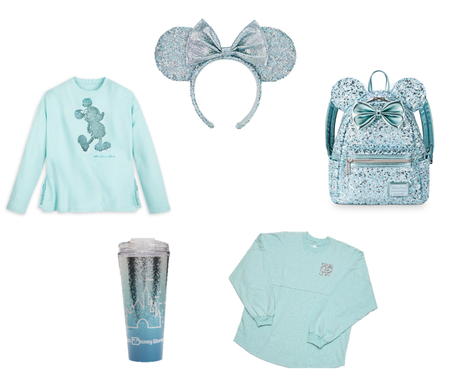 NEW - Arendelle Aqua Minnie Ears, Spirit Jersey, Loungefly Backpack, and more