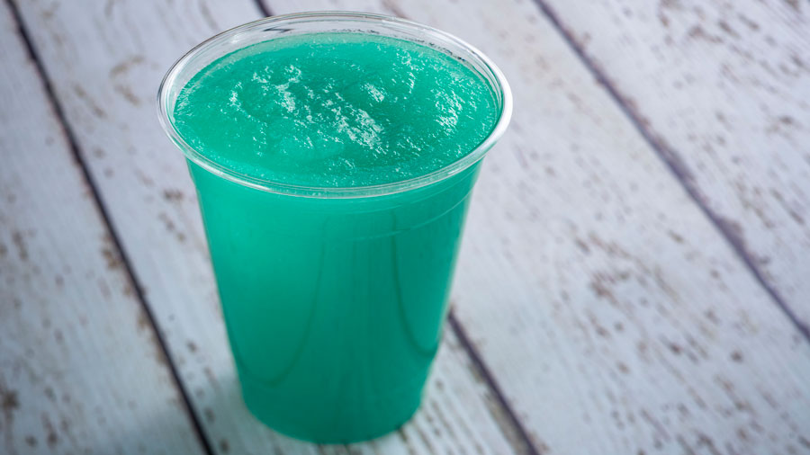 NEW Slushie Available at Norway Beer Cart near the Frozen attraction