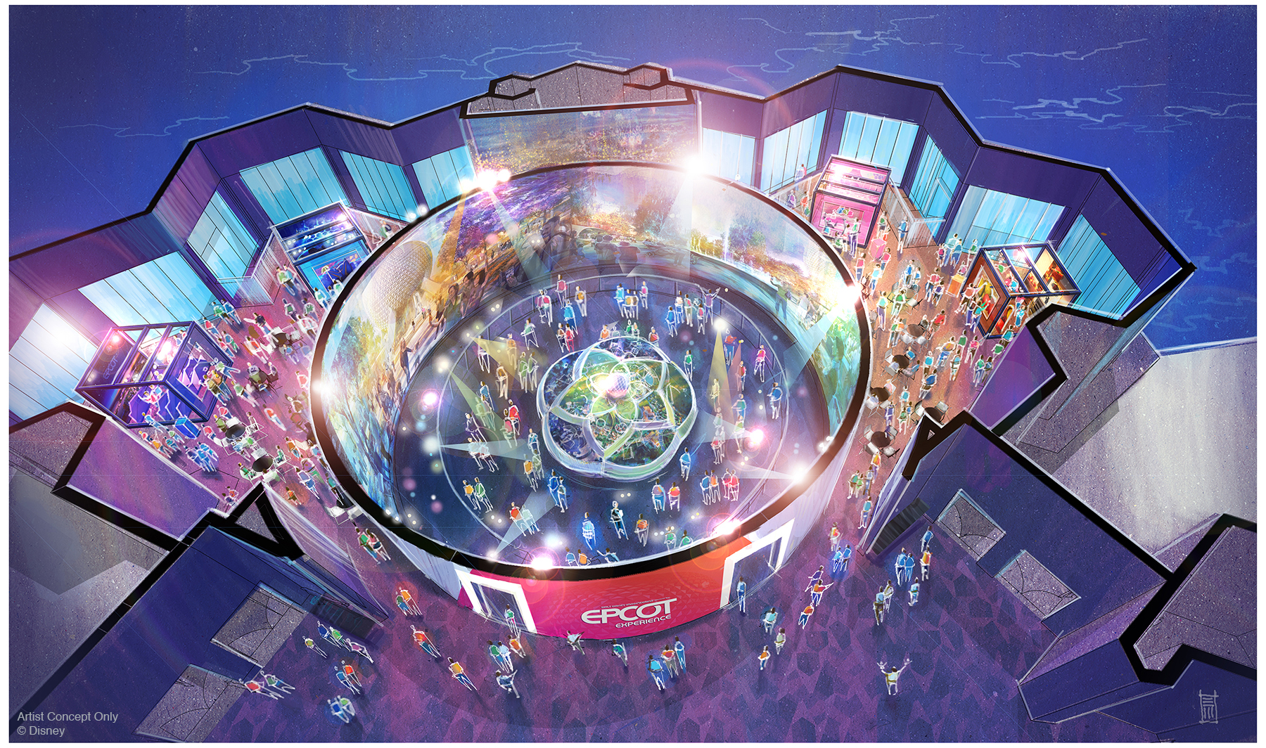 The Epcot Preview Center will open on October 1, 2019