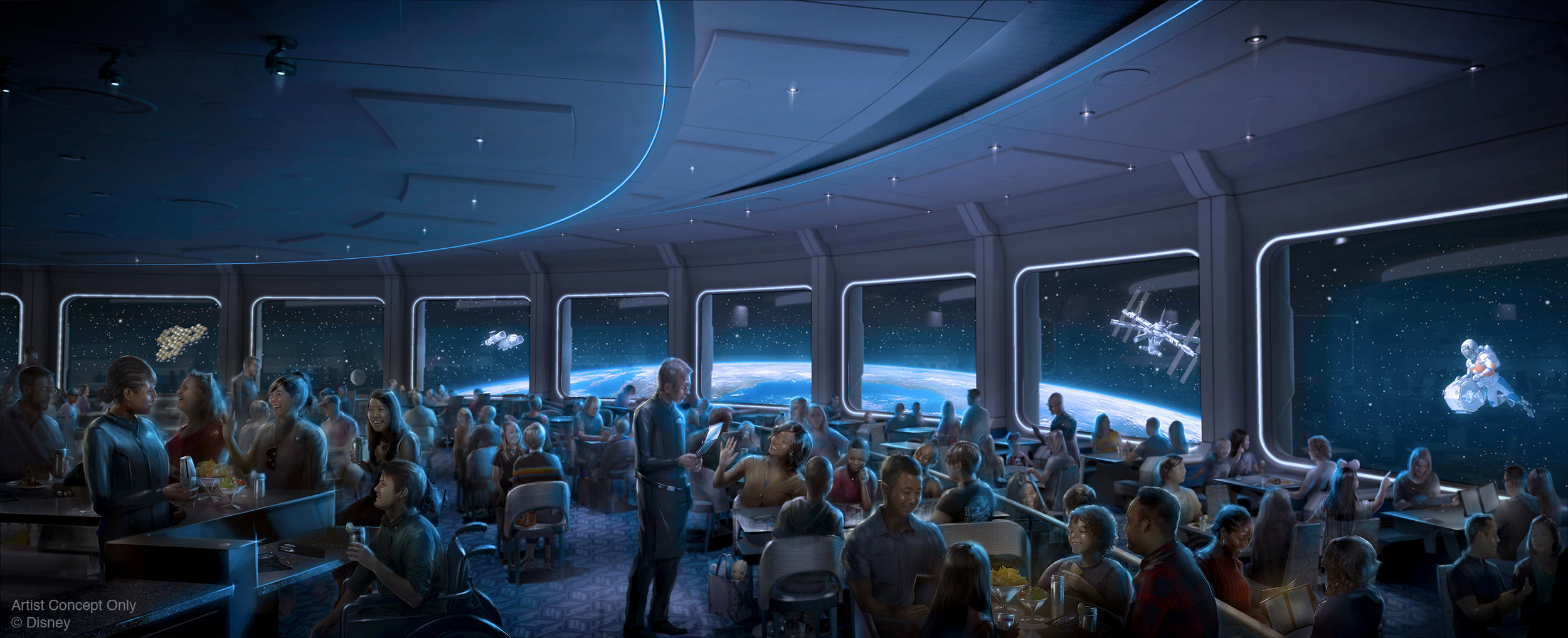 Epcot's Space 220