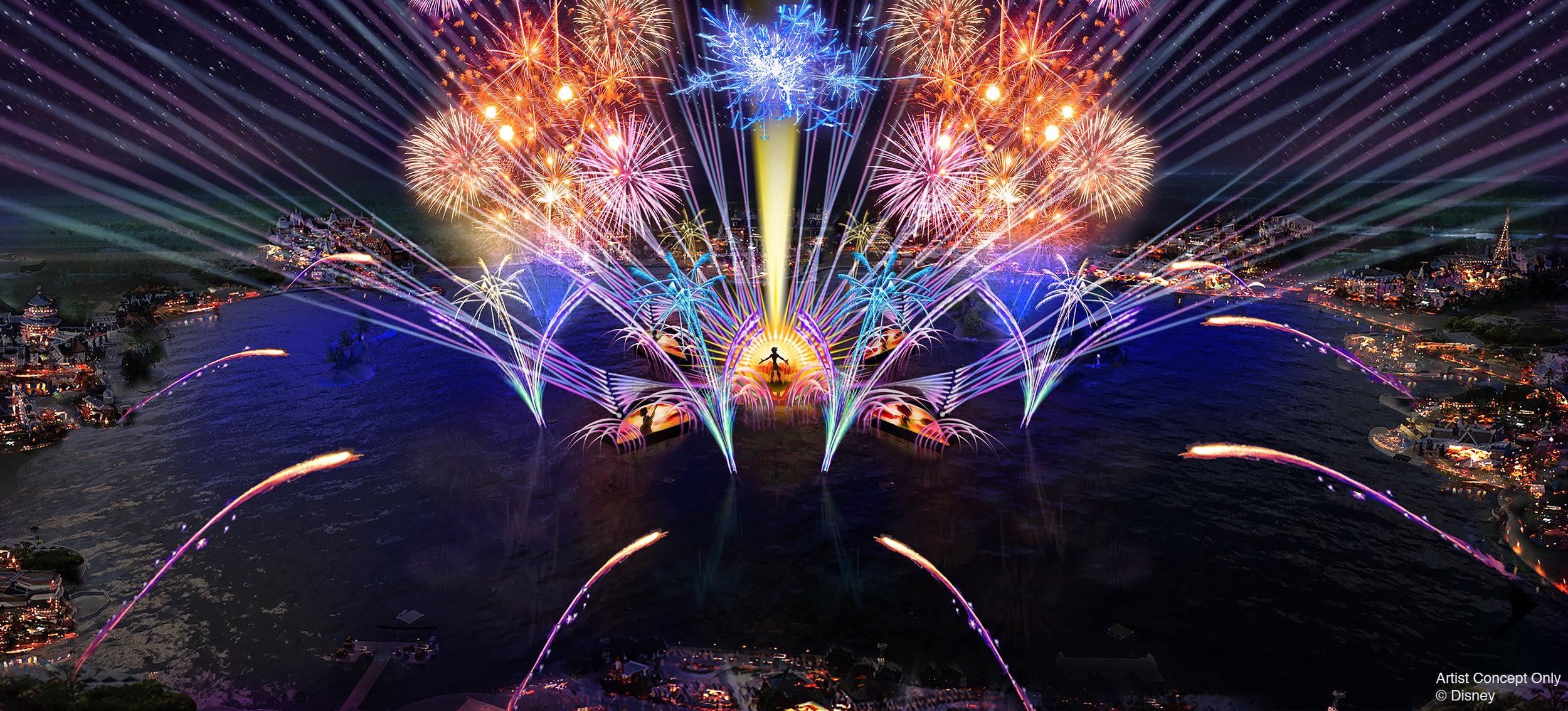 New HarmoniUS Firework Spectacular
