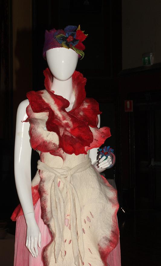 Spanish Dance Nudibranchs Feltwear (Dress) by Jelina Haines