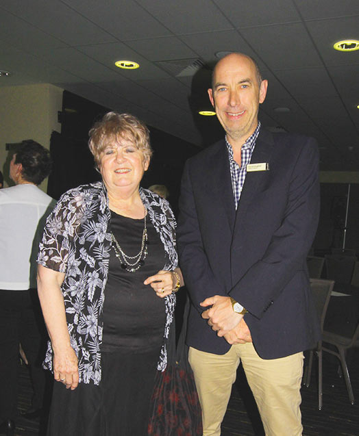 GBA's Marilyn Simpson with Town of Gawler Deputy Mayor David Hughes