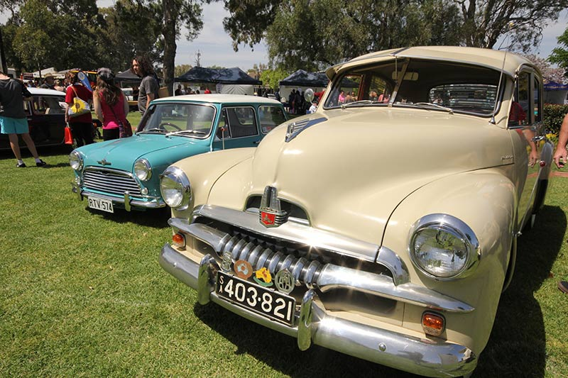 Some of these classic cars where in fantastic condition, the light glinted off the polish