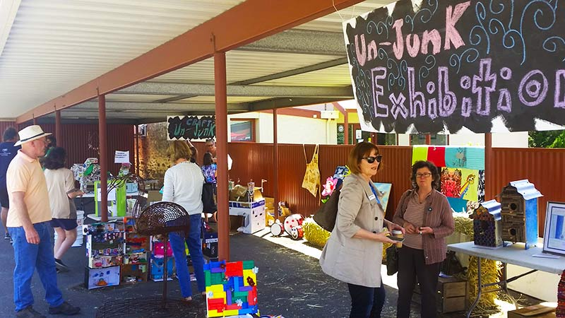 The Un-junk Exhibition was a huge success, with heaps of really creative entries